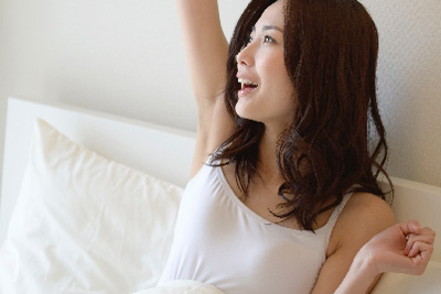 スッキリ目覚め
